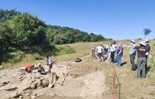 Descubren restos humanos en el yacimiento romano de Llorís