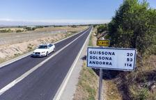 El Govern repara de urgencia la L-310 de Guissona a Tàrrega tras las quejas