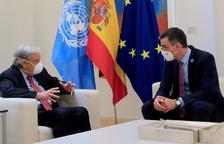 El secretari de l'ONU veu amb bons ulls els indults, una porta al diàleg amb Catalunya