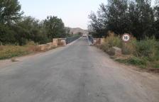 Aitona reclama al Estado que reconstruya el puente sobre el Segre