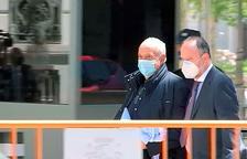 José Luis Moreno presenta l'aval hipotecari de la fiança que evita la presó