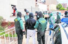 La macrorredada antidrogas de Balaguer se salda con 29 detenidos