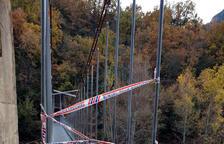 Avui s'incien les obres per reparar el despreniment a Mont-rebei