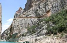 Comencen les obres a Mont-rebei amb la previsió de recuperar turistes a l'agost