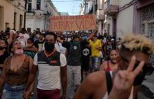 Estados Unidos niega estar tras las protestas contra el régimen en Cuba