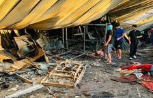 Un nuevo incendio en un hospital de Irak causa 92 fallecidos