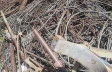 Vielha desmantela los restos de la antigua estación de Tuca