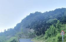 Una de las carreteras de acceso de Llavorsí.