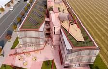 Imagen virtual de cómo sería este nuevo albergue de Pardinyes.