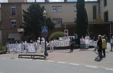Imagen de archivo de una de las protestas de los trabajadores.