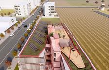 Imagen virtual del proyecto del nuevo albergue de Pardinyes.