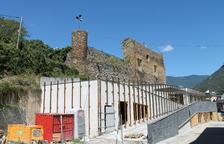 Sort inverteix 92.000 € a consolidar el castell
