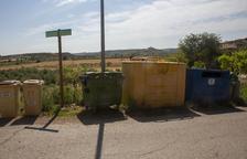 Illes de contenidors també a Belianes
