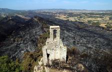 El gran incendio de L'Anoia pudo ser provocado por un accidente mecánico