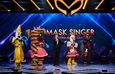 Aquests són els cinc famosos que s'amagaven sota les cinc màscares de la final de 'Mask Singer'