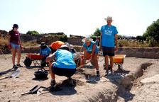 Las excavaciones en el yacimiento del Hort del Cavaller de Isona dejan al descubierto la trama de una ciudad romana