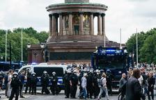 Casi 600 arrestados en Berlín en protestas negacionistas