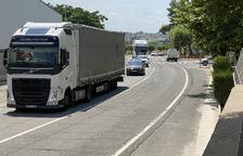 Nova jornada de trànsit dens a la carretera N-II