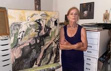 Pintures de Roswitha Heiser al castell d'Os de Balaguer