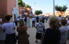 Mequinensa diu adeu a la seua històrica alcaldessa Magda Godia