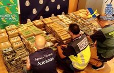 Confiscada a València una tona de cocaïna oculta en un contenidor