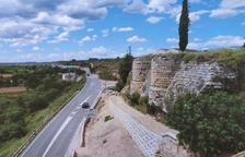 El Govern d'Aragó reforçarà aquest any la muralla de Saidí