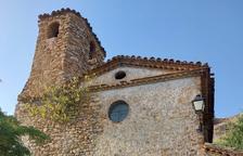 Vecinos de Corçà piden ayudas urgentes para evitar el derrumbe de la iglesia