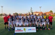 Doble victoria del FC Borges para conquistar su trofeo