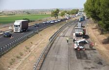 Noves cues per l'última etapa de les obres per renovar la variant de l'A-2 a Lleida