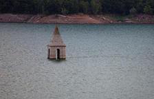 Un estudi confirma que l'església del pantà de Sau és la més antiga del món que es conserva dreta dins de l'aigua