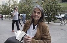 """El artista Perejaume el día de la presentación de su libro 'El """"potser"""" com a públic' en Lleida."""