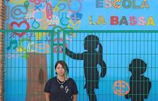 El colegio La Bassa de Torregrossa exhibe un nuevo mural