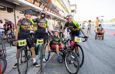 Un nen de 12 anys d'Albatàrrec que pateix hemiplegia recapta fons per poder comprar una bicicleta adaptada