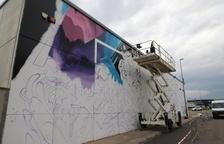 Grafitis passats per aigua a Torrefarrera