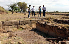 Corbins hace visitable la villa romana del Tossal del Moro