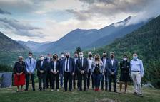 Cumbre en Vielha para reforzar la cooperación con Francia