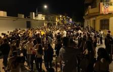 Segona nit de botelló amb centenars de joves a Agramunt