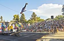 Soon Circus Company llenó la Ciutat Reguer en su última actuación.