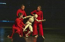 Laura Murphy Dance ayer en la Ciutat Trepat con su espectáculo 'Abacus'.