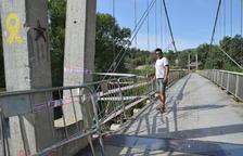 Tanquen el pont que uneix Oliana i Peramola al caure les baranes