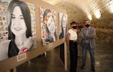 La leridana Gemma Farreny presenta sus 'Dones reals' en la Seu Vella