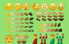 Un hombre embarazado y mayor diversidad étnica: así son los nuevos emojis