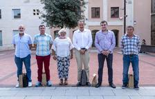 Relleu de cinc dels dinou membres del consell de la Segarra