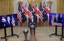 EEUU, Reino Unido y Australia sellan una alianza militar frente a China