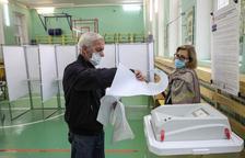 El partido de Putin se garantiza la victoria en las urnas con represión