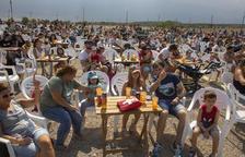 El camping municipal de Tàrrega acogió ayer al mediodía el recuperado festival familiar Lo Closcamoll, con un concierto de Reggae per Xics.