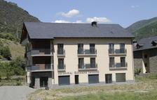 Imagen de archivo del edificio con los diez pisos tutelados.