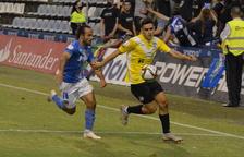 Primera derrota de un Lleida Esportiu vulnerable atrás y espeso en ataque