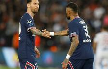 Messi, sustituido en la victoria agónica del PSG