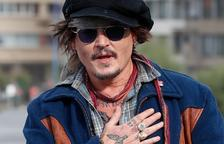"""Johnny Depp dice en San Sebastián que """"nadie está a salvo de juicios instantáneos"""""""